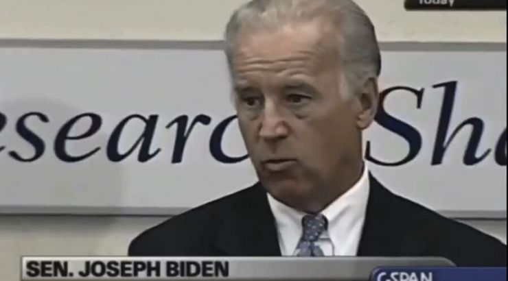 Damning Video Emerges of Biden Praising Bush for Leading America Into Iraq War