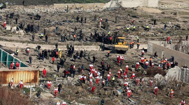 Iran Invites US, Ukraine, France, Canada and Boeing to Examine Crash Data