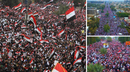Hundreds of Thousands of Iraqis Protest Against US Military Occupation