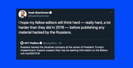 Establishment Pundits Go Nuts Over New Russian Hacking Conspiracy