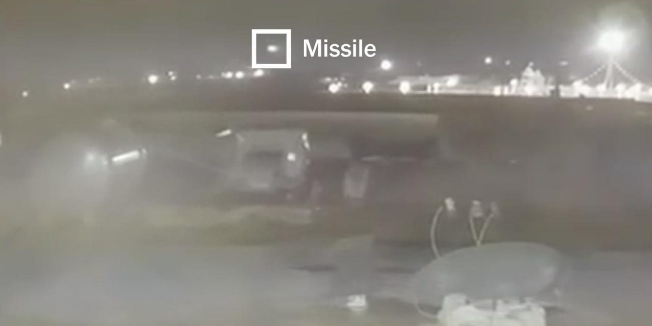 New Video Shows That a Second Iranian Missile Struck Doomed Passenger Jet