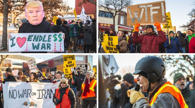 Tens of Thousands Rally Against War With Iran in Over 70 Cities Across US
