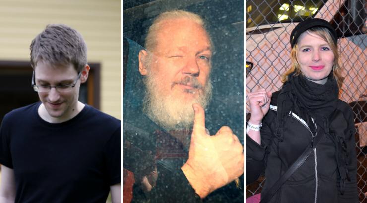Edward Snowden, Julian Assange, Chelsea Manning Nominated for 2020 Nobel Peace Prize