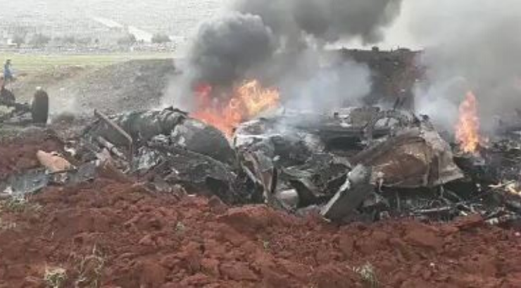 A 2nd Syrian Helicopter Brought Down by MANPAD in Only a Few Days