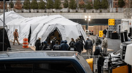 DHS Warns NYC Morgues Near Capacity as Local Hospitals Construct Makeshift Facilities