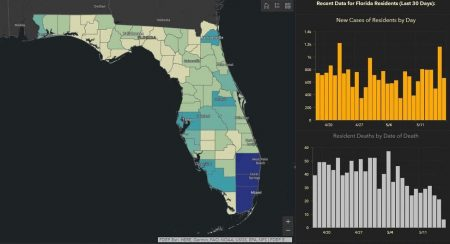 Creator of Florida's COVID-19 Dashboard Says She Was Fired for Refusing to Manipulate Data