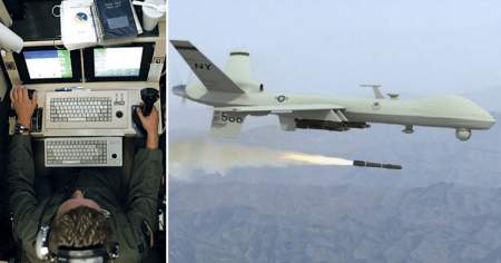 """Former Air Force Drone Operator Says US Military is """"Worse Than Nazis"""""""