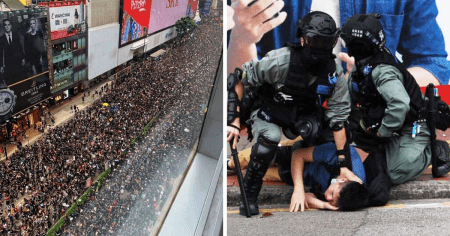 Hong Kong Erupts: Tear Gas Deployed as Thousands Fill Streets to Oppose China