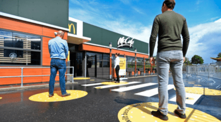McDonald's Reveals Future Layout of Restaurants in Post-Corona World