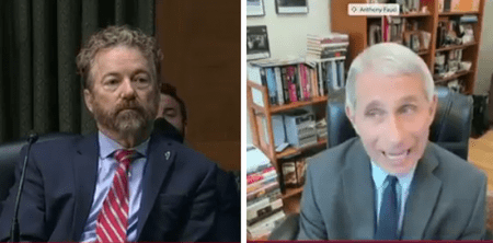 """""""You're Not the End All"""": Rand Paul Slams Dr. Fauci in Heated Exchange Over Lockdowns"""