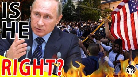 Putin Drops Bombshell About US Civil Unrest