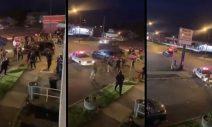 Horrific Scene as Car Plows Into Dozens of Police Amid Rioting in Buffalo, New York