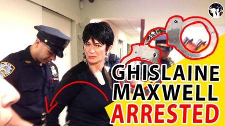 Ghislaine Maxwell Arrested by FBI in New Hampshire on Sex Abuse Charges