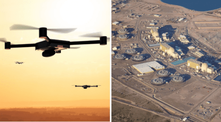 Mysterious Drone Swarm Breached Secure Airspace Over Largest Nuclear Power Plant in US