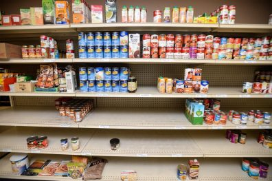 Food Banks Struggle as Economy Falls Off Fiscal Cliff