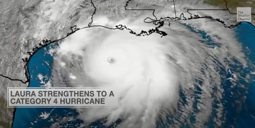 "Hurricane Laura Strengthens to ""Catastrophic"" Category 4 With ""Unsurvivable"" Storm Surge"