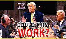 Trump Say YES. Can A Joe Rogan Trump-Biden Debate End The Civil Unrest?