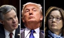"Trump To ""Immediately Fire"" FBI, CIA Directors If Re-Elected"