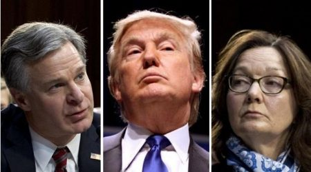 """Trump To """"Immediately Fire"""" FBI, CIA Directors If Re-Elected"""