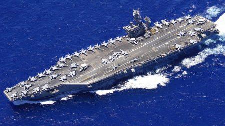 US Carrier Strike Group Heads to Gulf as Iran Threatens Retaliation