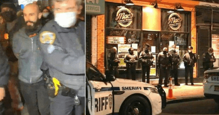 "Owner of NYC Bar Arrested Days After Declaring ""Autonomous Zone"" to Dodge Pandemic Restrictions"