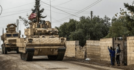A Large U.S. Military Convoy Rolled Into Syria on First Day of Biden Presidency