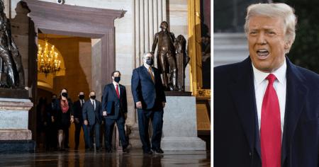 Senate Votes Trump Impeachment Trial Constitutional, Six Republicans Break Ranks