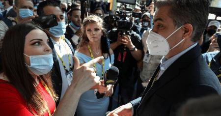 CNN's Jim Acosta Flabbergasted After Journalist Confronts Him Over Cuomo Media Blackout