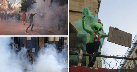 """""""We Are Hungry"""": Violent Protests Erupt as Lebanon 'Hyperinflation' Accelerates"""