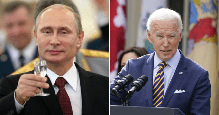 """""""I Wish Him Good Health"""": Putin Responds to Biden Calling Him a """"Killer"""" Who """"Doesn't Have a Soul"""""""
