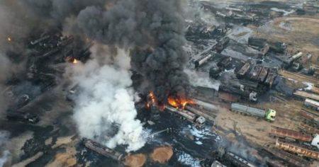 "Putin & Assad's Revenge? Ballistic Missiles Pummel ""Stolen"" Syrian Oil Convoy & Refinery"