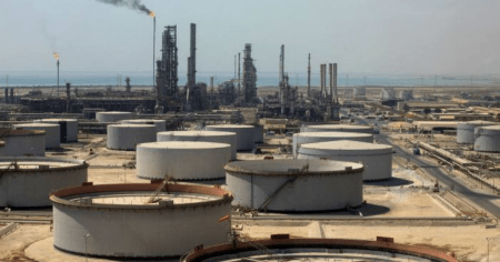 Brace for Oil Surge: Saudi Oil Tank in Ras Tanura Port Hit in Houthi Drone Attack