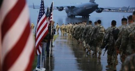 "US Agrees to Withdraw ""Remaining Combat Troops"" From Iraq"