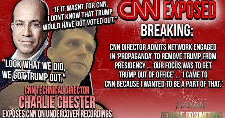"""We Were Creating a Story—Our Focus Was to Get Trump Out"": CNN Director Busted on Camera"