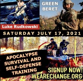 EXCLUSIVE APOCALYPSE SURVIVAL SELF-DEFENSE TRAINING, 1-ON-1 WITH WITH SPECIAL FORCES GREEN BERET LUKE RUDKOWSKI