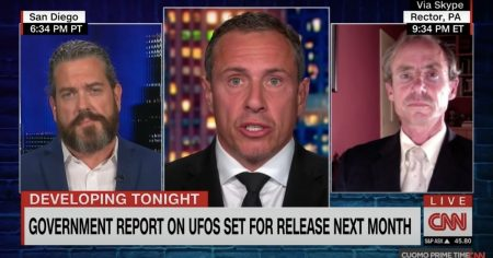 Drivers of the New UFO Narrative Keep Absurdly Saying They Could Be Dangerous ETs