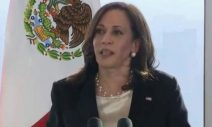 """""""I Voted for You!"""": Mysterious """"Journalist"""" Fawns Over Kamala Harris at Mexico Press Briefing"""