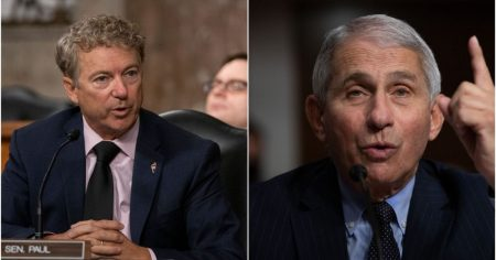 """""""You Don't Know What You're Talking About"""": Frazzled Fauci Erupts After Latest Rand Paul Grilling"""