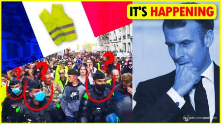 HUGE: Massive Uprising in France Has Begun!
