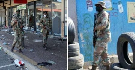 """South African President Claims Social Unrest Was """"Planned"""" as 25,000 Troops Deployed"""