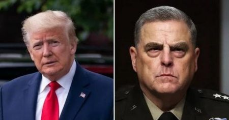 """""""Treason If True"""": Trump Lashes Out At General Milley Over Secret Meeting With China """"Behind The President's Back"""""""