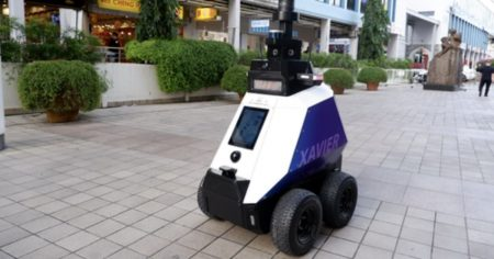 """Singapore Deploys Robots to Detect """"Undesirable Behavior"""" Including Groups of """"More Than 5 People"""""""