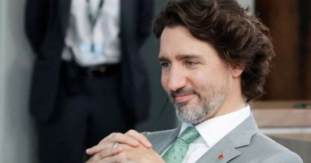 Justin Trudeau Pelted by Rocks at Campaign Event