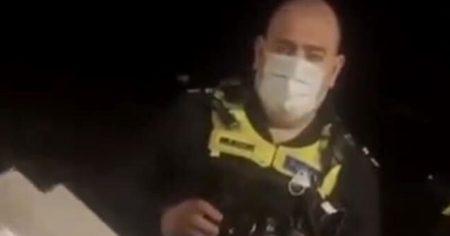 Watch: Aussie Police Interrogate Citizen on His Doorstep Over 6-Month Old Anti-Lockdown Facebook Posts